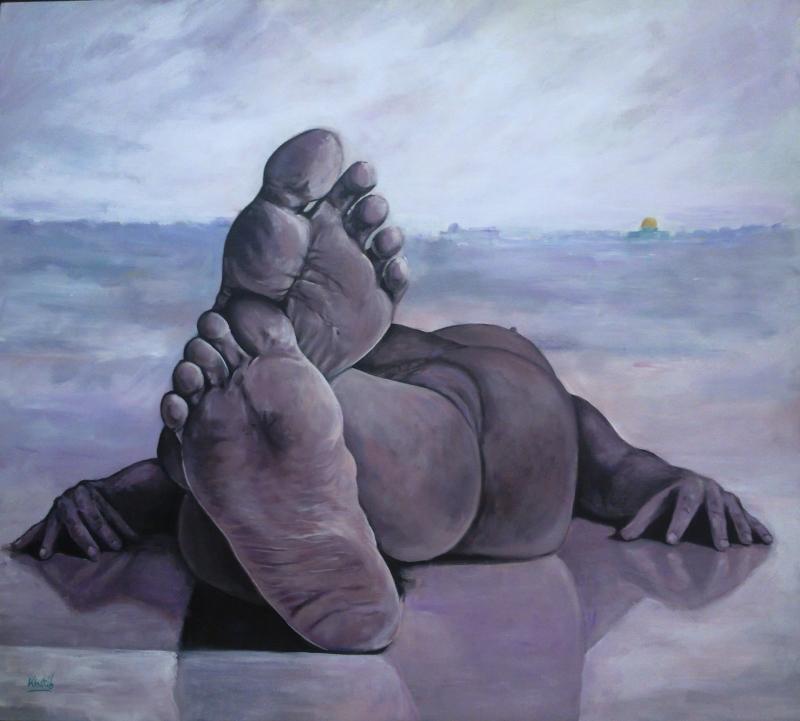 للفنان الفلسطيني أحمد الخطيب