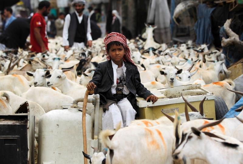 وفد صنعاء: الولايات المتحدة تبتزنا لقبول خطة كيري  (أ ف ب)