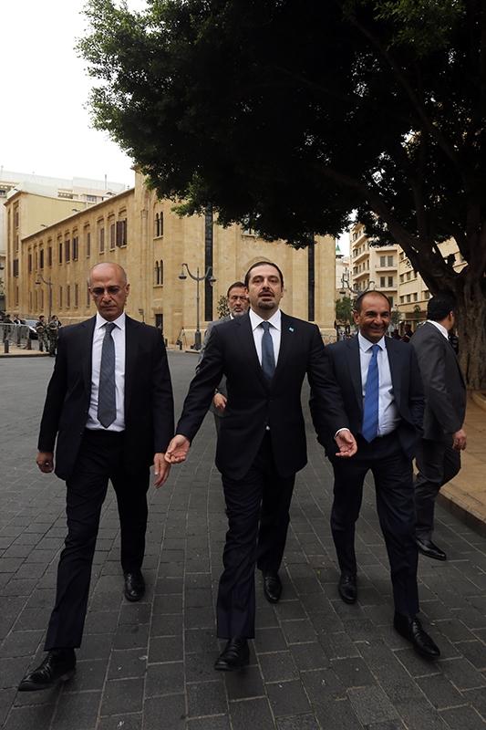 لن يسير الحريري بتسوية رئاسية من دون أن يُمهّد لذلك مع حلفائه وكتلته النيابية وجمهوره
