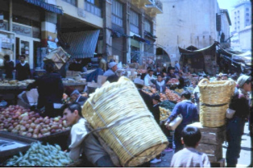 سوق النورية في الخمسينات