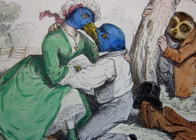 «البومة المتلصصة» (1854)