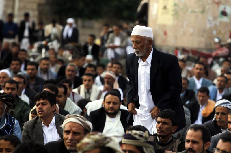 سيطرت الحركة اليمنية على صنعاء بعد معركة استمرت ثلاثة أيام فقط (الأناضول)