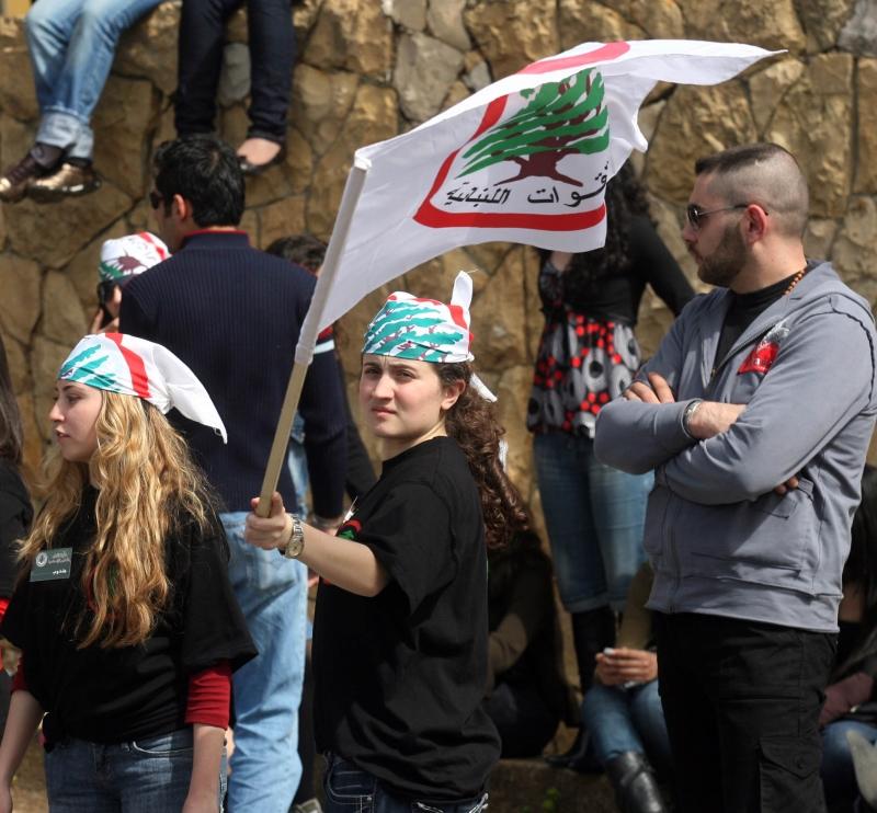 بدأت قيادة القوات اللبنانية تغيير إستراتيجيتها في التعامل مع حصنها، بشرّي، بعد الشظايا التي أصابتها في الانتخابات البلدية الأخيرة (هيثم الموسوي)