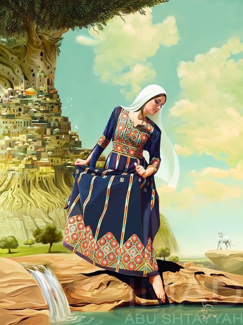 للفنان الفلسطيني عماد أشتيه