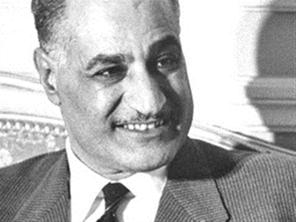 عن جمال عبد الناصر