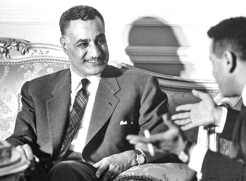 حديثي عن عبد الناصر هو لغدٍ أرى فجره يطلّ من بين كل أكداس العتمة التي تلفّنا