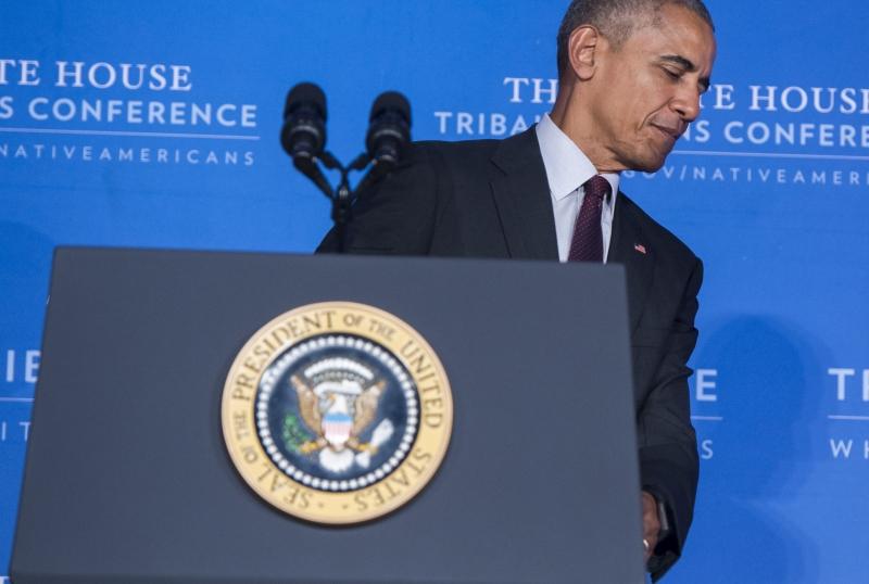 وصف البيت الأبيض تجاوز الفيتو بـ{الأكثر إحراجاً منذ سنوات» (أ ف ب)