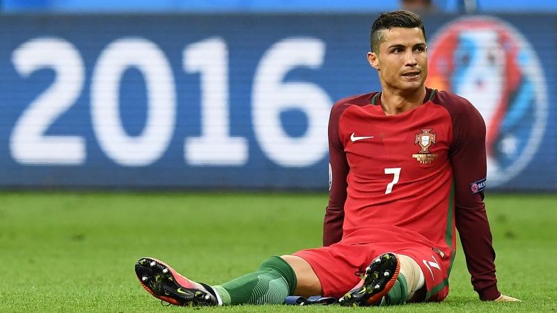 غاب رونالدو عن المباراة الأولى في تصفيات المونديال لإصابته في نهائي كأس أوروبا (أرشيف)