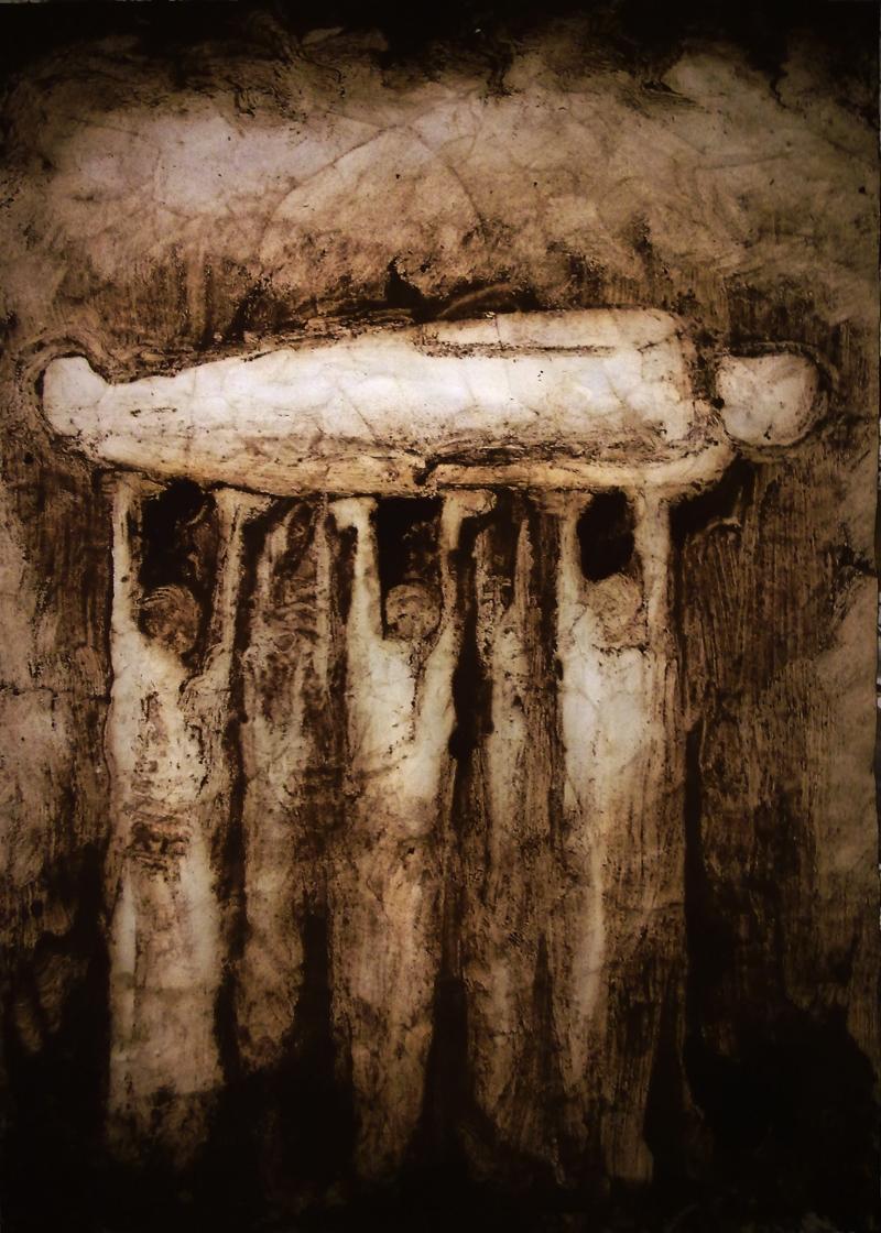 غياب (للفنان الفسطيني انس سلامة)