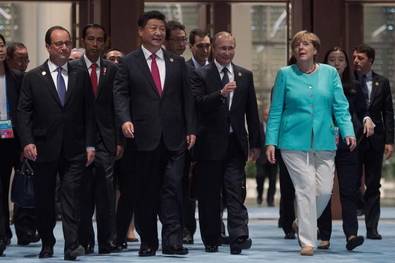 يُعتبر الاقتصاد الصيني أكبر مساهم في النمو العالمي لهذا العام (أ ف ب)