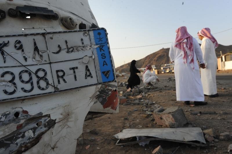 أعلنت القوات اليمنية استهداف تجمع لضباط وجنود سعوديين في منطقة الموسم (أ ف ب)