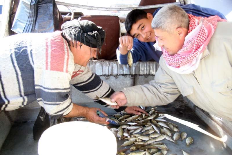 صيادو السمك في العبدة