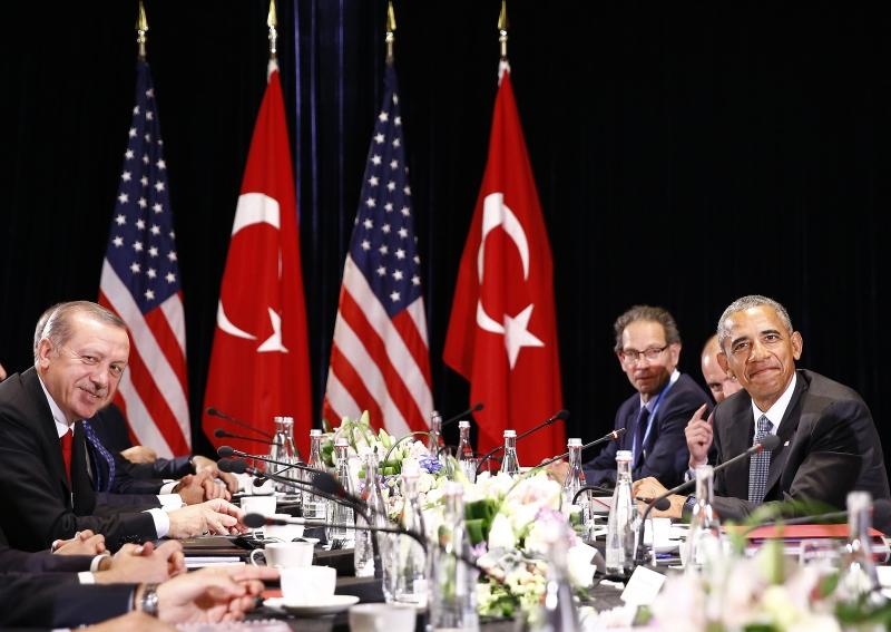 أردوغان: اجتماع عسكريي البلدين كفيل بحل جميع الأمور الضرورية (الأناضول)