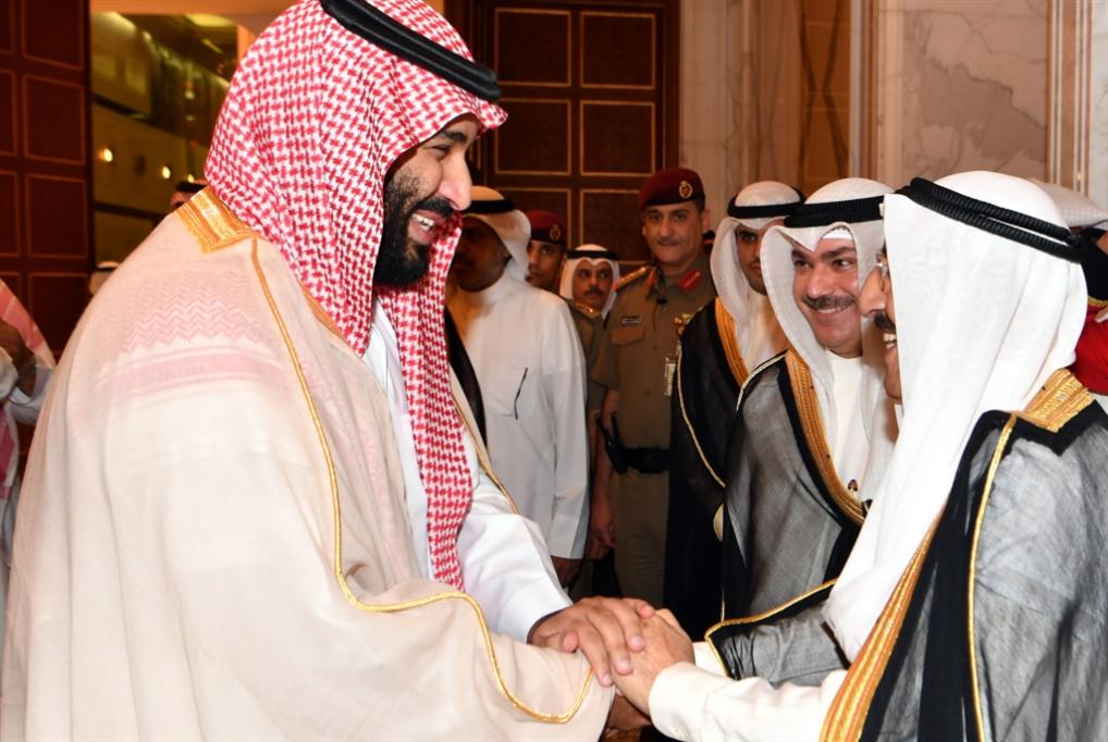 ابن سلمان في الكويت: هاتوا نفطكم لنرضي ترامب