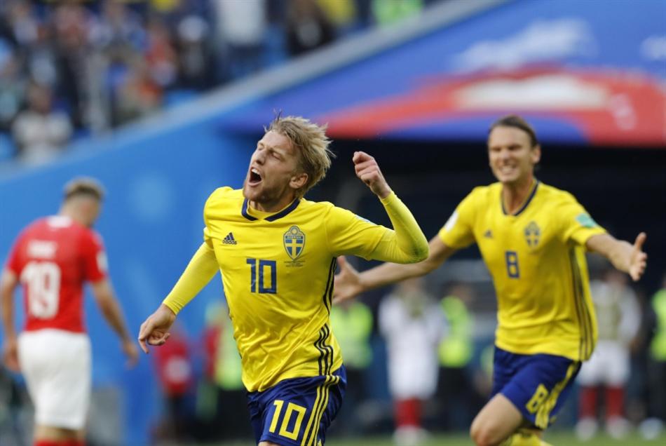 السويد تلاقي روسيا بذكريات المونديال