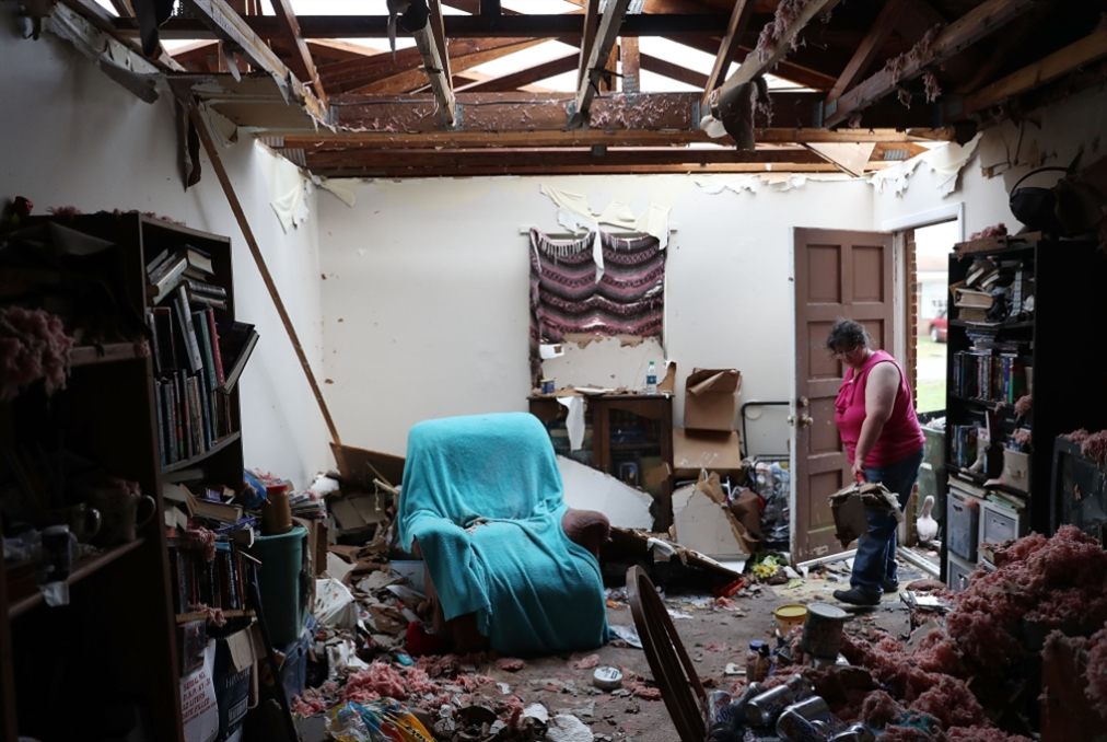 الإعصار «مايكل» يجتاح البرّ الأميركي
