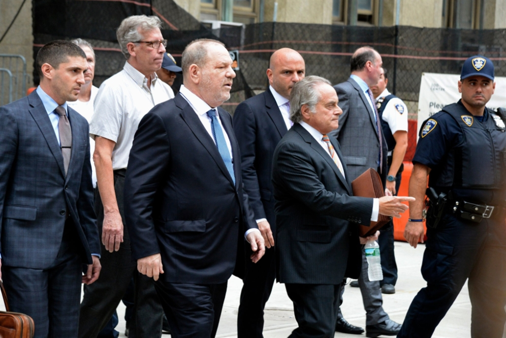 هارفي واينستين: إسقاط إحدى التهم الجنائية