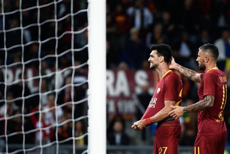 روما يواجه بلزين والعين على دور الـ16