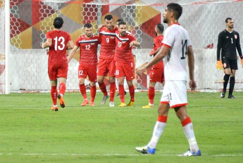 السوما يقود سوريا إلى الفوز على البحرين
