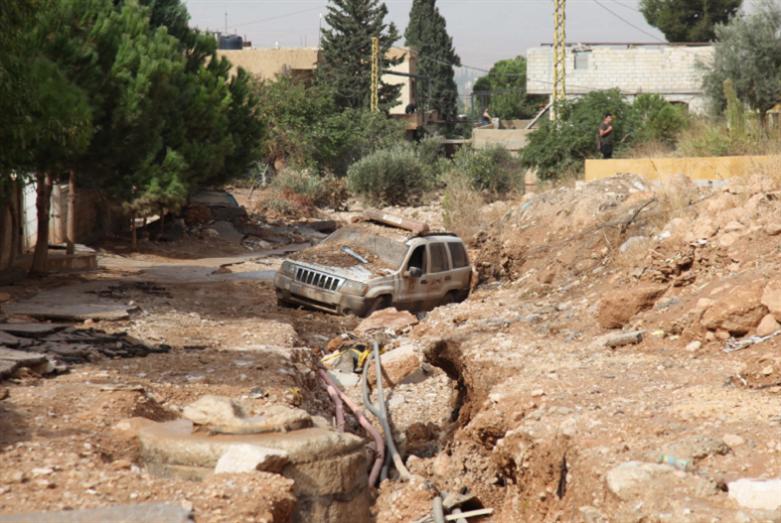 سيول البقاع: فيضانات  فأضرار فوعود... لا تُطبّق