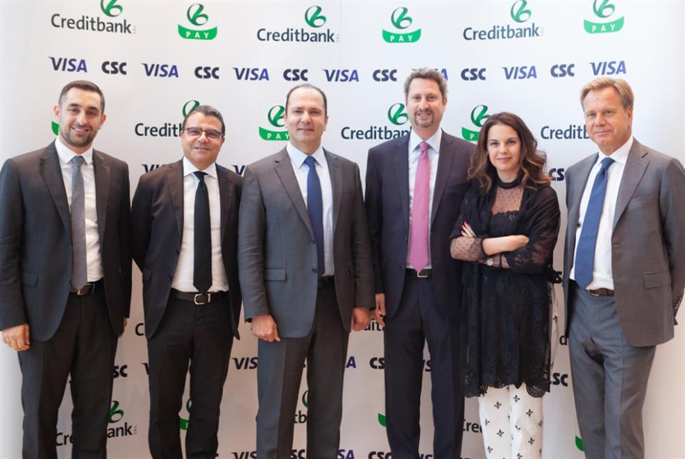 الاعتماد المصرفي يطلق   CreditbankPay للدفع عبر الهاتف