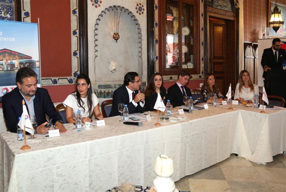 «توتال» تدعم رجال الأعمال الشباب