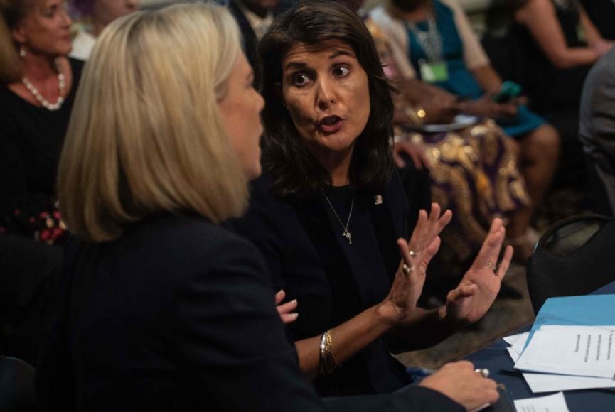 تسريب لنيكي هيلي: لم أكن أعرف ماذا تفعل الأمم المتحدة!