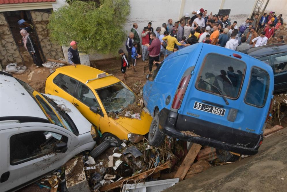 تونس | الفيضانات تُعرّي خطاب التنمية