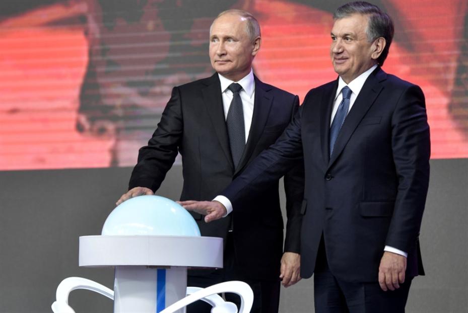 بوتين في أوزبكستان: 800 اتفاقية... ومحطة نووية
