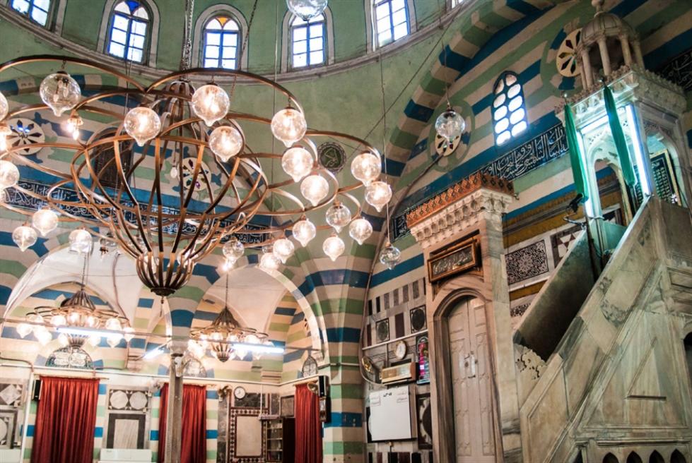 العصر العثماني ينبعث في مساجد دمشق