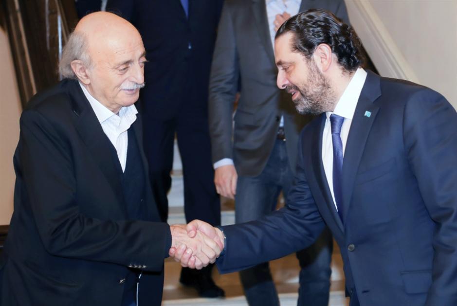 جنبلاط يرفُض استقبال الحريري في  منزله