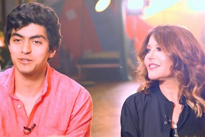 سميرة سعيد وإبنها: حكاية واحدة