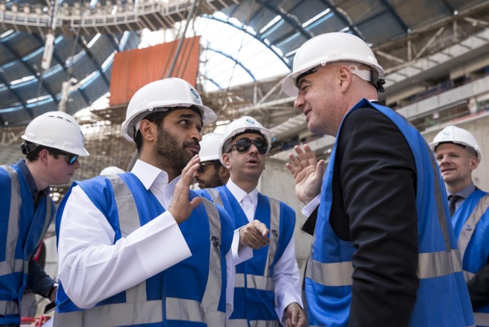 إنفانتينو في قطر