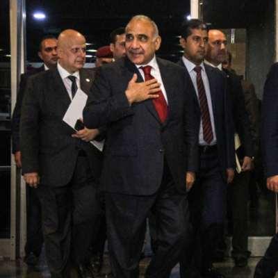 «ثقة ناقصة» لحكومة من 14 وزيراً: عبد المهدي رئيساً للوزراء