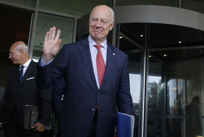 دي ميستورا يغادر دمشق بلا «وعود» خلافات «اللجنة الدستورية» باقية