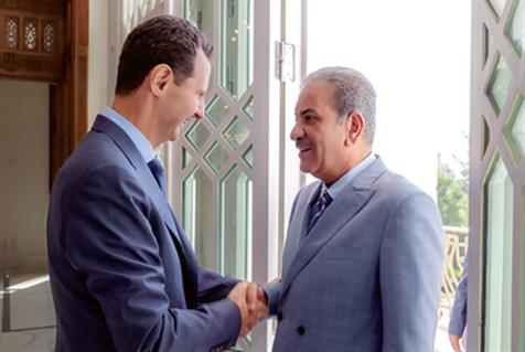 «الشاهد» الكويتية تلتقي الأسد
