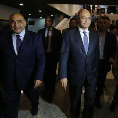 عبد المهدي يبدأ مساره بـ«حذر»: عدم ترشيح النواب أول المطالب