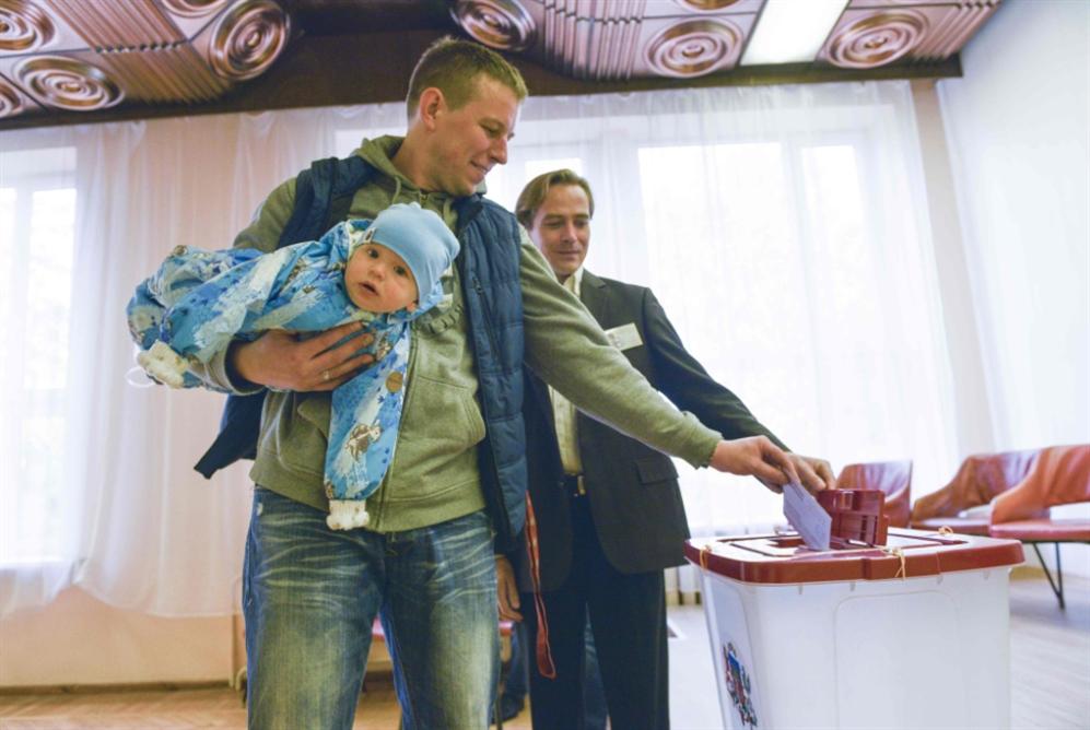 فوز «الوئام» القريب من روسيا في انتخابات لاتفيا