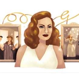 «غوغل» يعايد «ملكة الإغراء»