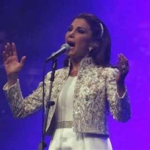 ماجدة الرومي اختتمت «مهرجان الموسيقى العربية»