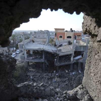 العدوان على غزّة في صوَر