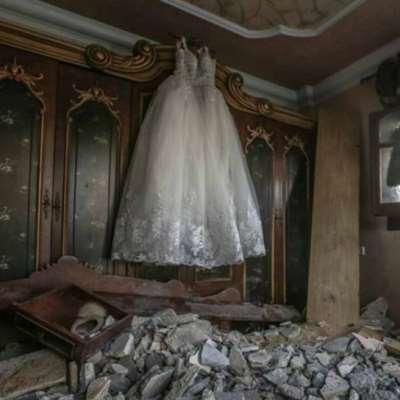 فستان أبيض في غزة... لحظة فرح لم تكتمل