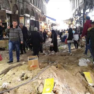 سوق «البزورية» مقلوباً في عزّ الموسم!