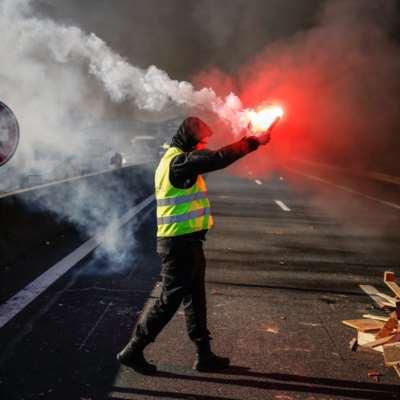 احتجاجات عنيفة لـ«السترات الصفراء»: إخفاق جديد لماكرون