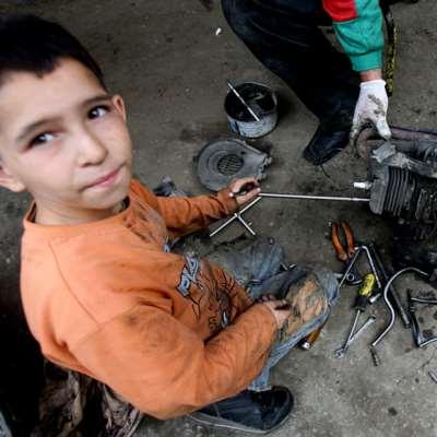 أطفال لاجئون... و«أصحاب عيال»