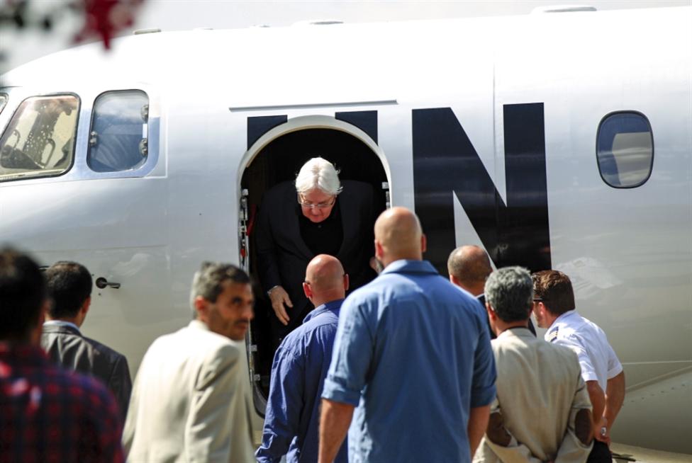 غريفيث في صنعاء مجدداً:  «دعم» أميركي يعزّز «التفاؤل»