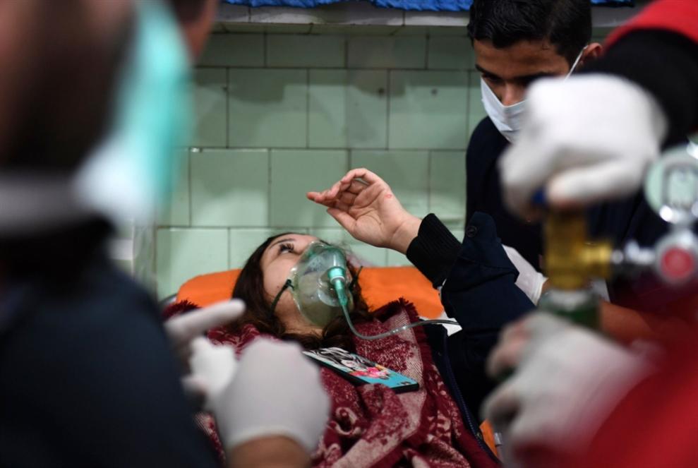 هجوم «كيميائي» في حلب... يقابله صمت دولي
