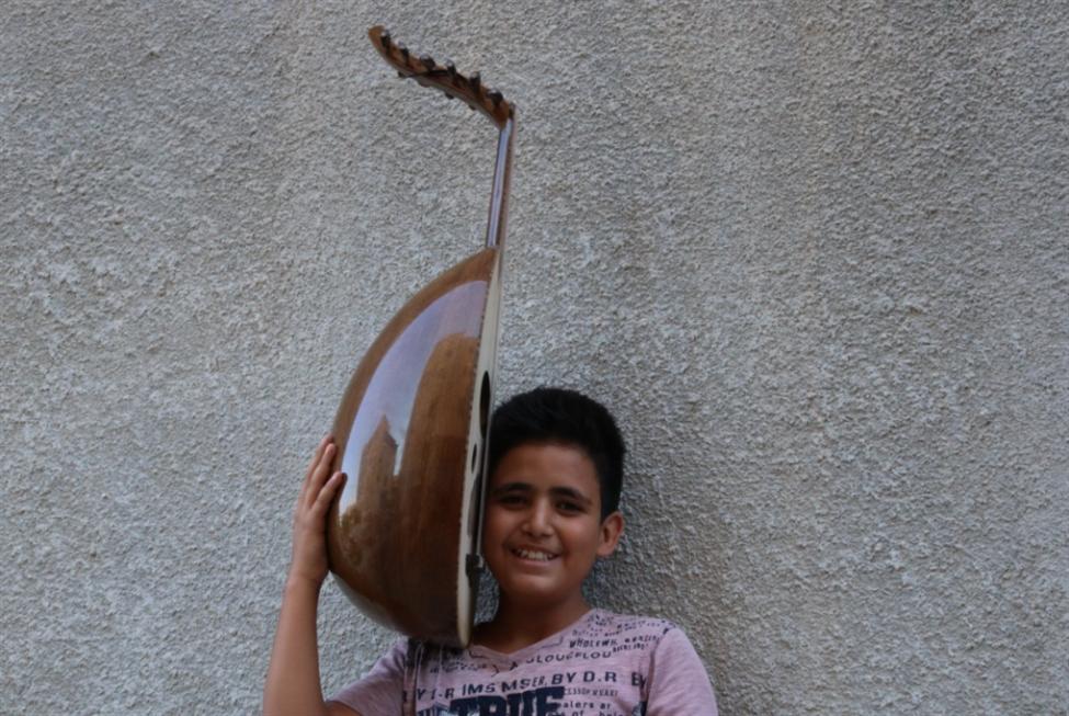 طلاب «العمل للأمل»:  موسيقى وأغنيات تراثية