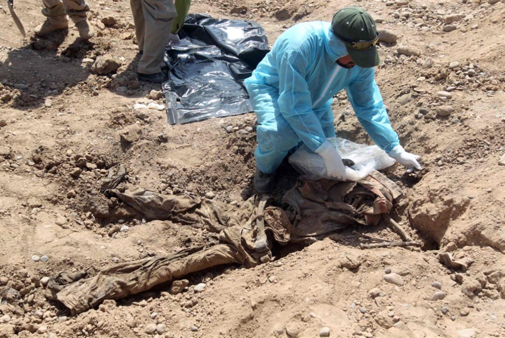 200 مقبرة جماعية لضحايا «داعش»