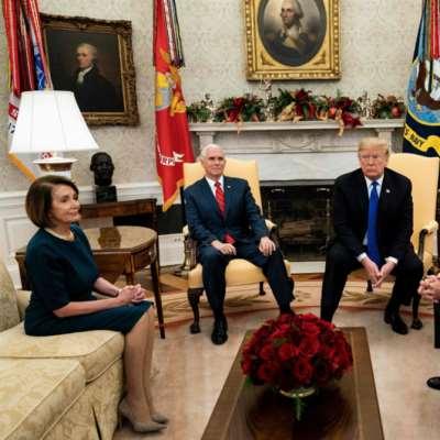ترامب يهدِّد بتعطيل عمل الحكومة: موِّلوا الجدار